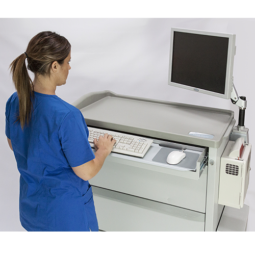 M Series Tech Ready Medication Carts Capsa Healthcare