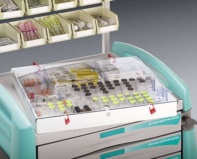 Avalo Anesthesiologist Utility Carts