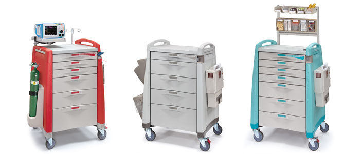 Medication carts for hospitals