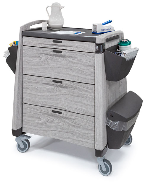 Upscale Medication Carts with Drawers