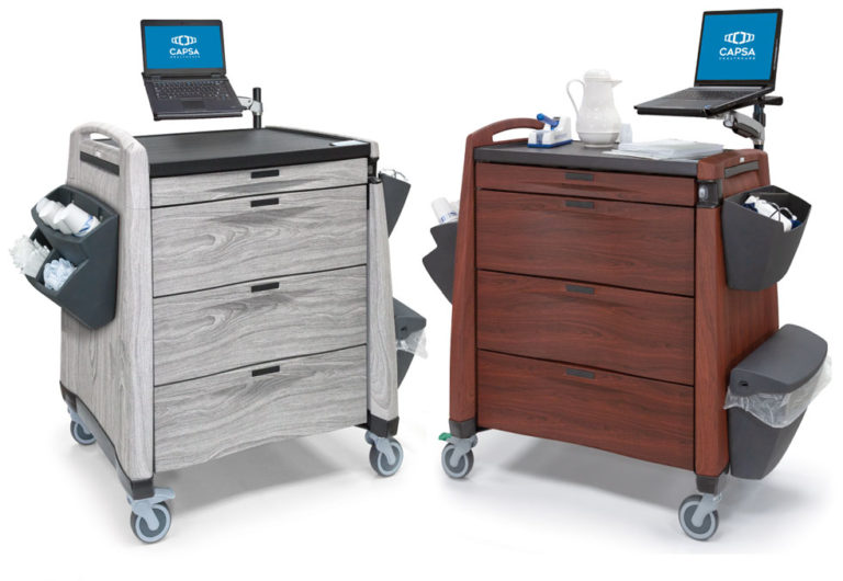 Avalo Furniture-finish Punch Card Carts