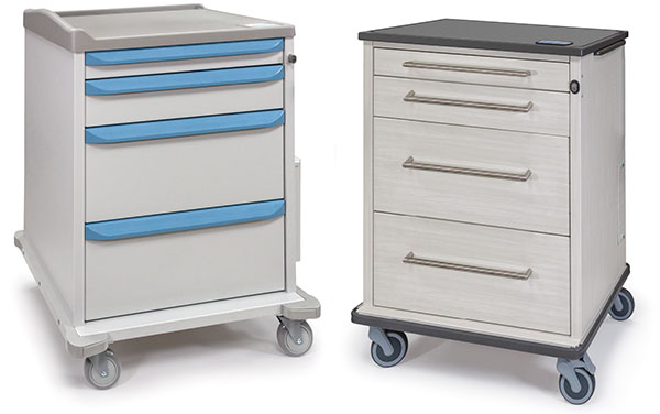 Dispill medication carts